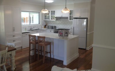 Kitchen Bathroom Renovations - Gold Coast - Decorated dining room with kitchen