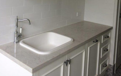 Kitchen Bathroom Renovations - Gold Coast - Decorated Basin with marble